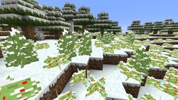 Winterfication Minecraft Texture Pack