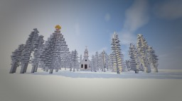 White Christmas Package (29 Tree +1 church) Minecraft Map & Project