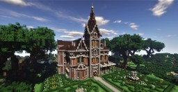 Victorian Mansion #3: Red Primrose (Updated) Minecraft Map & Project