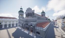 [1858 - 1863] Manila Cathedral, Intramuros Manila Minecraft