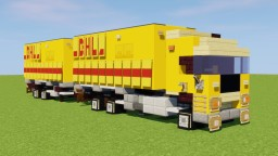 DHL Truck Minecraft Map & Project