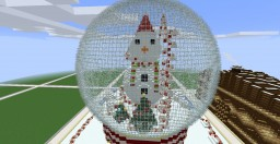 Snow Globe Ride park Minecraft Map & Project