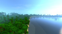 Large Survival Island With Cove Minecraft Map & Project