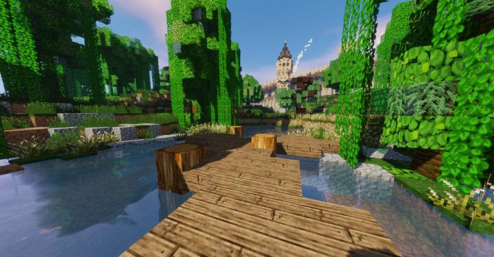 Sword Art Online -The floor 1- Minecraft Map