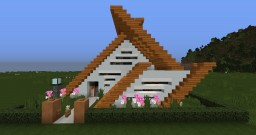 Small Modern House Minecraft Map & Project
