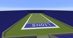 Pontiac Silverdome Minecraft Map & Project