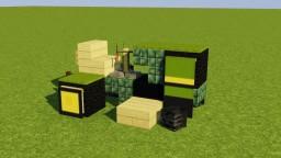 John Deere Lawn Mower Minecraft Map & Project