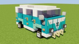 VW Bus Minecraft Map & Project