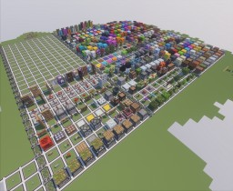 A giant World (Build with 16:1 blocks) Minecraft