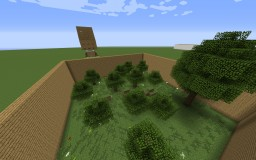 Find the button 1.7.10 Minecraft Map & Project