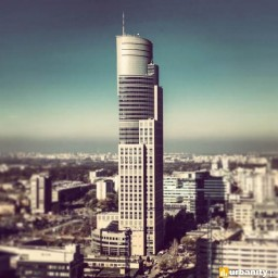 Warsaw Trade Tower Minecraft Map & Project