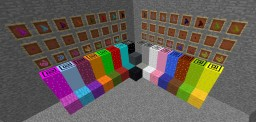 Airsoft wool Minecraft Mod