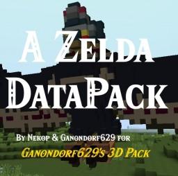 """A 3D Zelda Datapack by Nekop for """"Ganondorf629's 3D Pack"""" Minecraft Mod"""