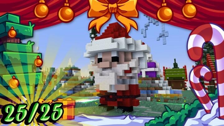 Minecraft Christmas.Christmas Builds 25 25 Cute Santa Claus Minecraft