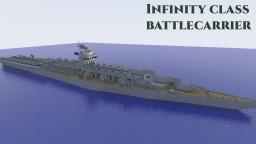 Infinity Class Battlecarrier Hybrid Minecraft Map & Project