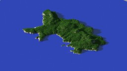 Channel Island Minecraft Map & Project