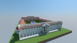 Roman Library of Hadrian Minecraft Map & Project