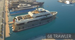 Trawler Yacht 'Sessantotto' (full interior) Minecraft Map & Project