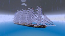 Preussen Windjammer 1:1 Scale Minecraft Map & Project