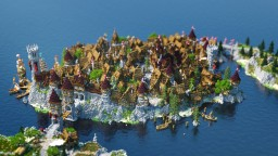 Merefurt - a Medieval Lake Town Minecraft