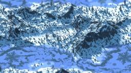 Snowdrop River [1000 x 1000 Custom Terrain] Minecraft Map & Project
