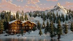 Realistic Ski-Resort Minecraft Map & Project