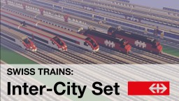 Swiss Trains - Inter-City Set (SBB CFF FFS) Minecraft Map & Project