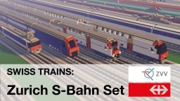 Swiss Trains - Zurich S-Bahn Set (SBB CFF FFS) Minecraft Map & Project