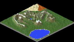mountain terrain Minecraft Map & Project