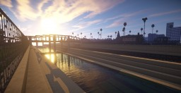 """Happy 2019"" Los Angeles City Map Minecraft"