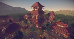 Traditional Japanese Village V3 Overhaul Minecraft Map & Project