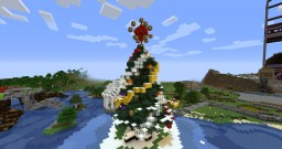 Christmas tree Minecraft Map & Project