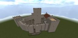 Castelo de Guimarães (Guimarães Castle, Portugal) Minecraft