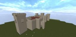 Castillo Almodóvar del Rio (Castle Almodovar del Rio) WIP Minecraft