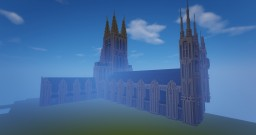 Gothic Cathedral Speed Build Minecraft Map & Project