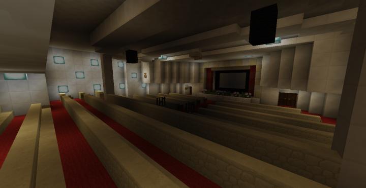 1st & Cabin Class Cinema