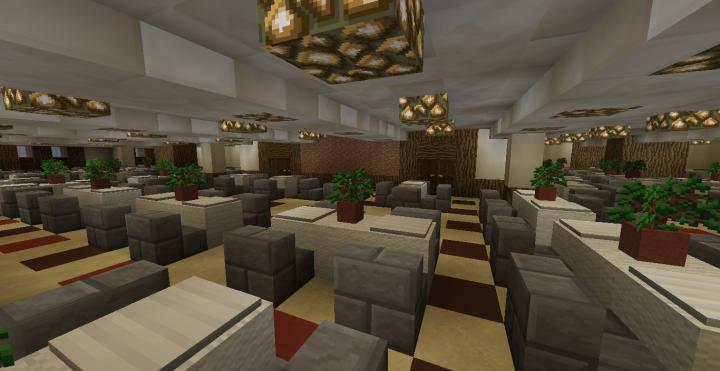 Tourist Class Dining Room