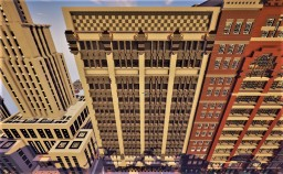 2 park avenue building - Chicago style architecture Minecraft Map & Project