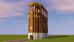 Dieselpunk Tram Minecraft Map & Project