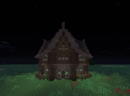 Medievalish Style House. [Schematic] Minecraft Map & Project
