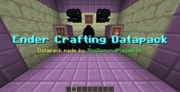 Ender Crafting Datapack - Craftable End Items Minecraft Map & Project