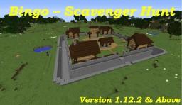 Bingo - Scavenger Hunt (1.12.2 & Above) Minecraft Map & Project