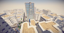 Large Modern City Minecraft Map & Project
