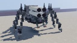"HUCB-51 ""Cicindelinae"" Mobile Ballistic Missile Beetle Minecraft"