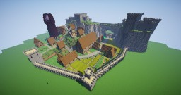 It's just a castle Minecraft Map & Project