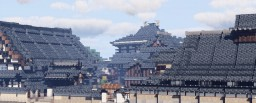 Honkyo-ji, Nakadera, Chuo Ward, Osaka, Kansai, Japan Minecraft Map & Project