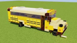 School Bus Minecraft Map & Project