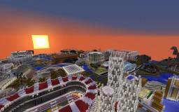 Void City- Modern & Vibrant new City Minecraft Map & Project