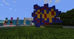 Disney's Pop Century Resort (1:1 Scale) Minecraft Map & Project