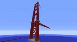 1:1 Golden Gate Bridge [ 10% Complete ] Minecraft Map & Project